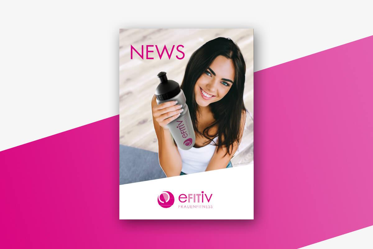 efitiv Frauenfitness - Jetzt den Newsletter abonnieren